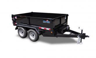 "2021 Hawke Trailers 72"" X 10' 10K Low Profile Dump Trailer"
