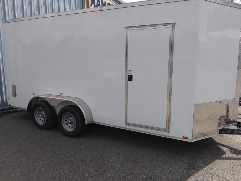 2021 Quality Cargo 7X16 TA Enclosed Cargo Trailer