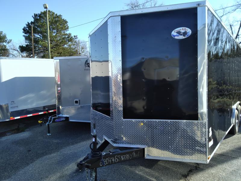 2021 Quality Cargo 8.5X20 TA Enclosed Cargo Trailer