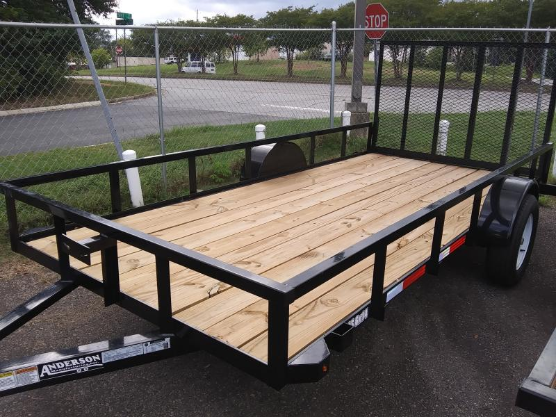 2020 Anderson Manufacturing LS614 Utility Series Utility Trailer