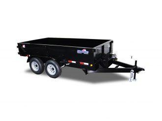 2021 Hawke Trailers Cardinal  6X12TA 10K Low Profile Dump Trailer