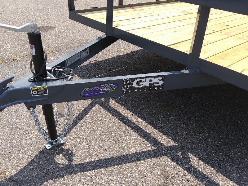 2021 GPS Trailers GT7145K Utility Trailer