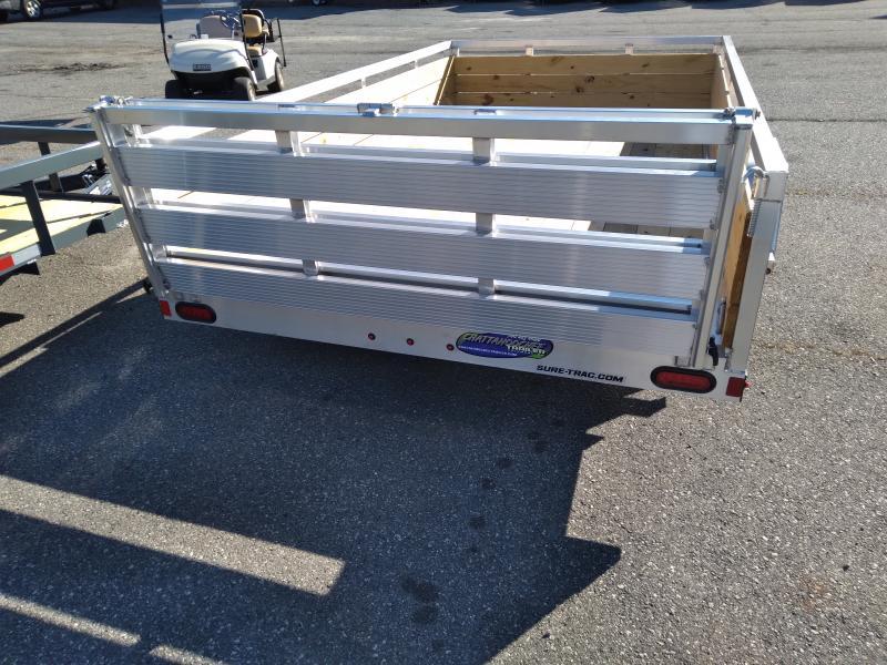 2021 Sure-Trac 7 X 12 Aluminum Tube Top Three Board  3K