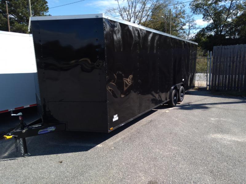 2021 Quality Cargo 8.5X24 TA3 Enclosed Cargo Trailer