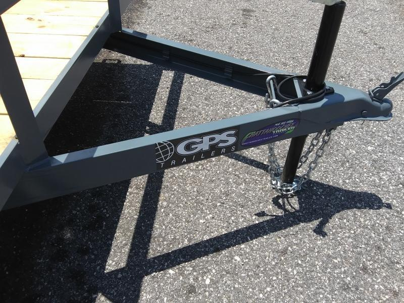 2021 GPS Trailers GT712 Utility Trailer