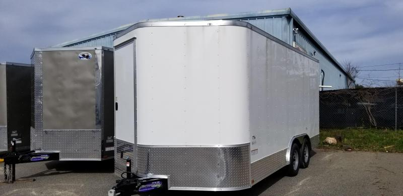 2021 Quality Cargo 8.5X16 TA Enclosed Cargo Trailer