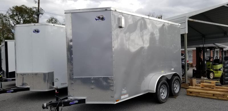 2021 Quality Cargo 6X12 TA Enclosed Cargo Trailer