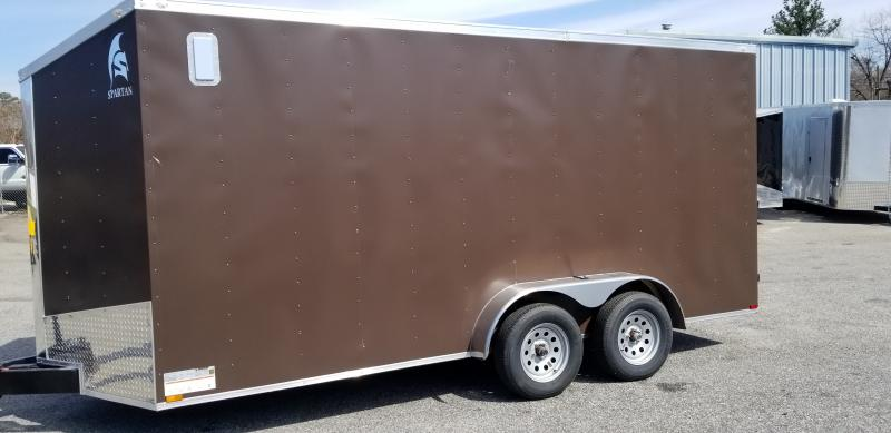 2021 Spartan Cargo Spartan SP7X16TA Enclosed Cargo Trailer