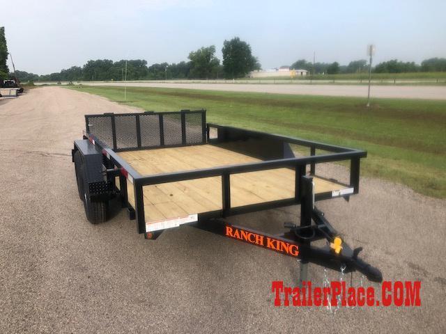 2021 Ranch King 6'10 x 12' Utility Trailer