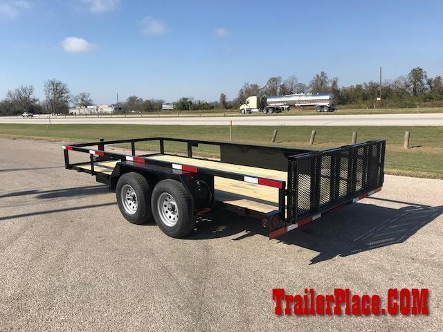 2021 Ranch King 6'10 x 18' Utility Trailer