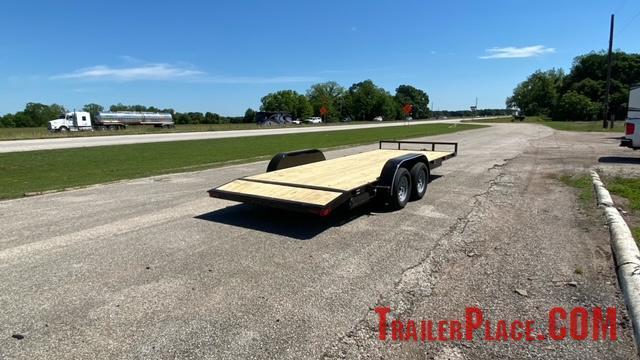 2021 East Texas  83 x 18  Light Duty Car Hauler