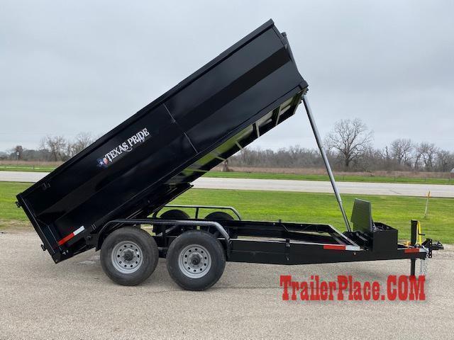 2021 Texas Pride 7 x 14 Bumper Pull Dump Trailer