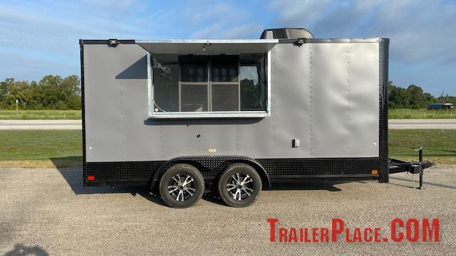 2021 Cargo Craft 7X16  Concession Trailer