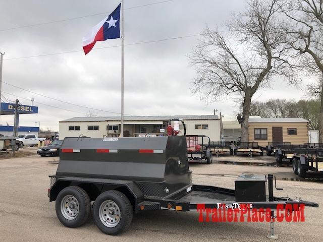 2021 East Texas 600 Gal Diesel Tank Trailer