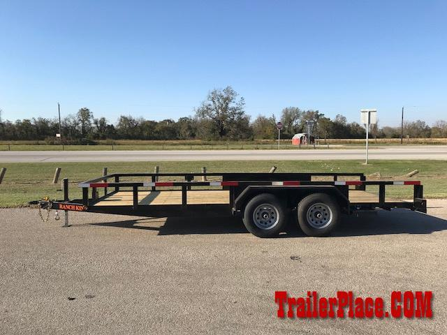 "2021 Ranch King 6'10"" x 20' Utility Trailer"