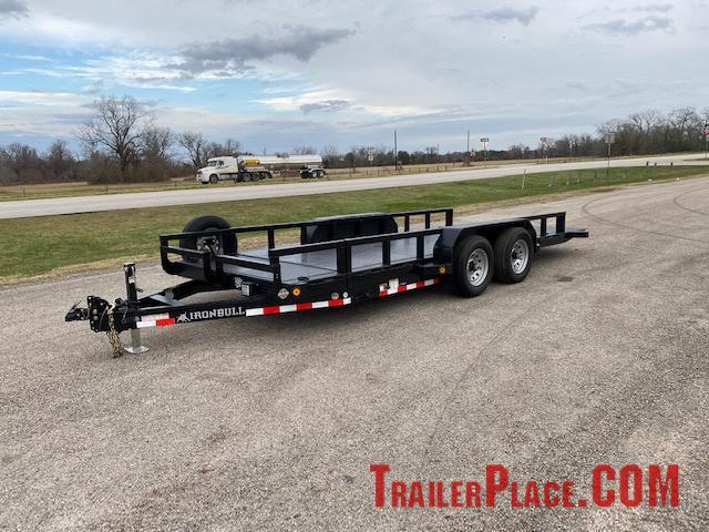 2020 Iron Bull 83 x 18  Tilt Deck Trailer