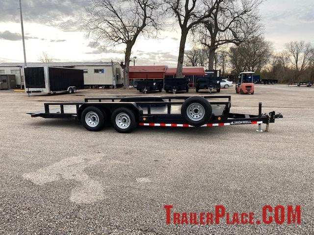 2020 Iron Bull 83 x 18  Tilt Deck Trailer