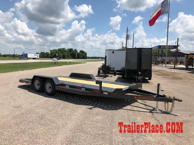 "2020 Ranch King 6'10"" x 20 Car Hauler Trailer"