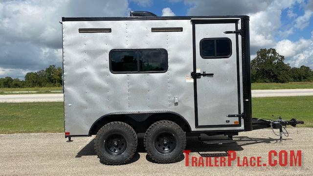 2021 Cargo Craft 7x12 Off Road Enclosed Trailer