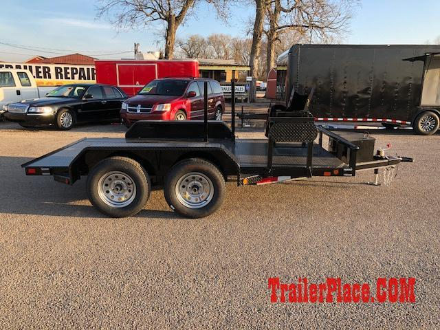 2021 East Texas  60x12 Welding Trailer