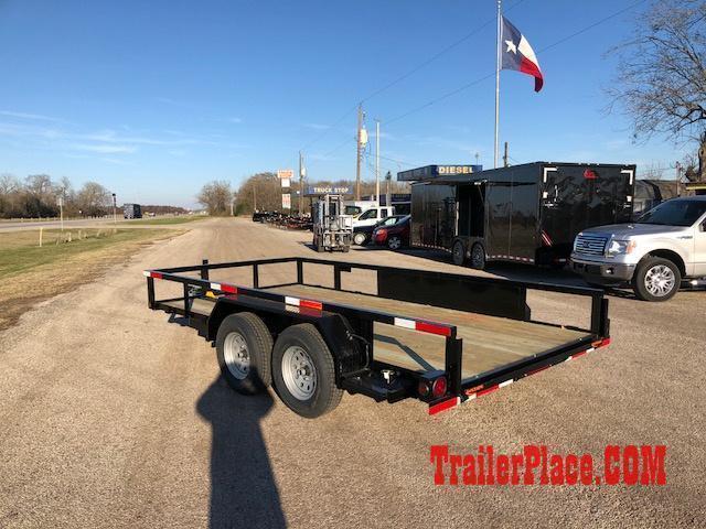 "2020 Ranch King 6'10"" x 12 Utility Trailer"