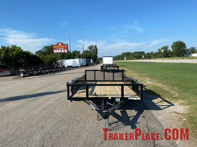 2022 East Texas  77 x 14 Utility Trailer