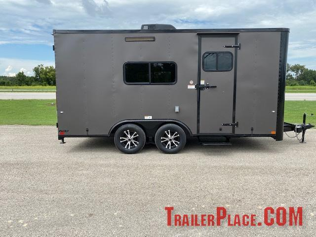 2021 Cargo Craft 8.5 x 16 OFFICE Trailer