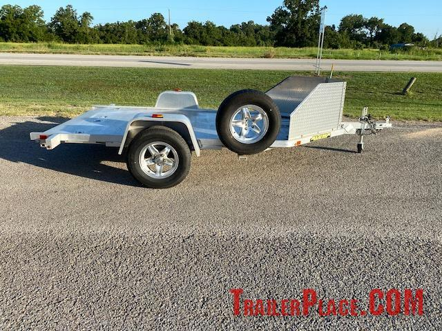 "2018 Big Tex Aluma 6'6"" x 12' Motorcycle Trailer"