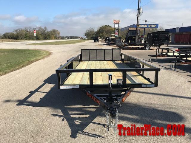 "2021 Ranch King 6'10"" x 18' Utility Trailer"
