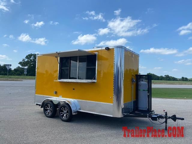 2020 Cargo Craft 7X14  Food/Concession Trailer
