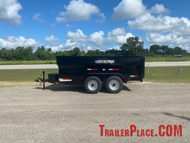 2022 Texas Pride 7 x 12 Bumper Pull Dump Trailer
