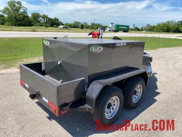 2021 East Texas 600 Gal Diesel Tank Trailer