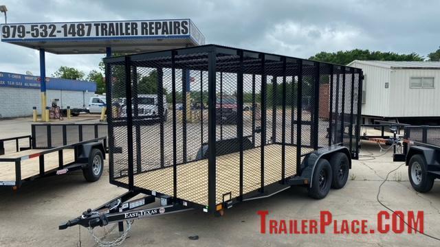 2021 East Texas  83 x 16 Trash Trailer
