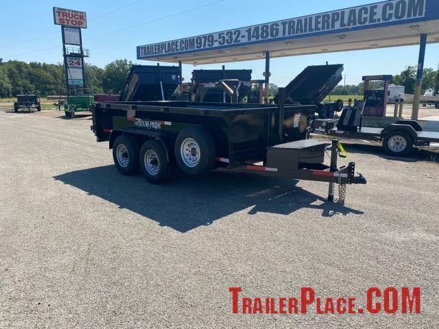 2021 Texas Pride 7 x 12 Bumper Pull Dump Trailer