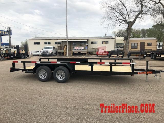 "2021 Ranch King 6'10"" x 18 Utility Trailer"