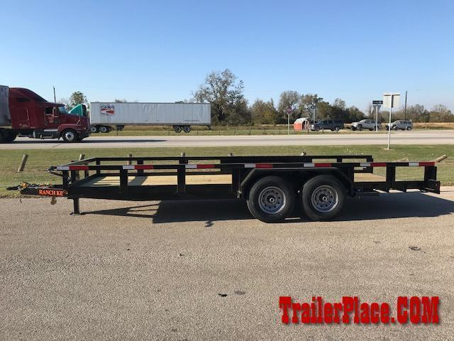 "2021 Ranch King 6'10"" x 18' Utility Trailer"