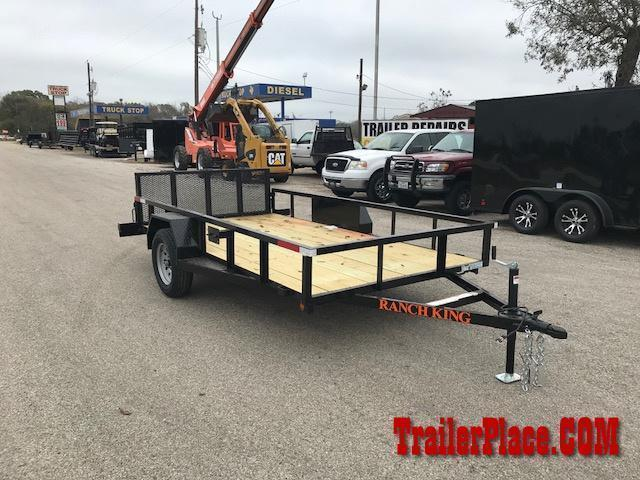 2021 Ranch King 6 x 10 Utility Trailer
