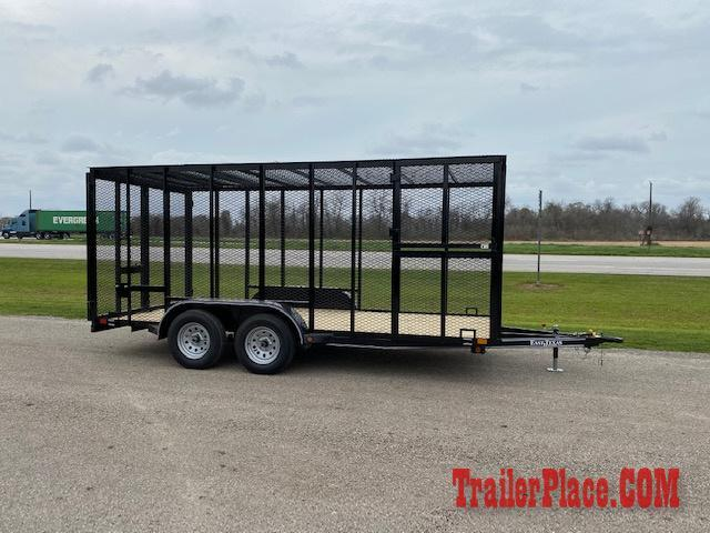 2020 East Texas  83 x 16 Trash Trailer