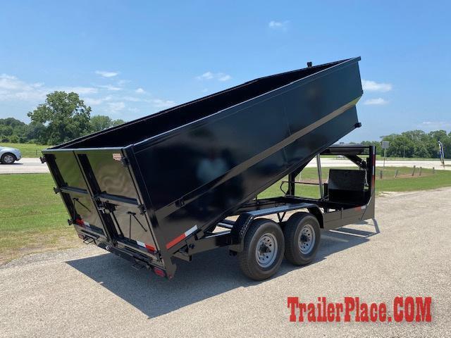 2021 Texas Pride 7 x 16 Gooseneck Dump Trailer