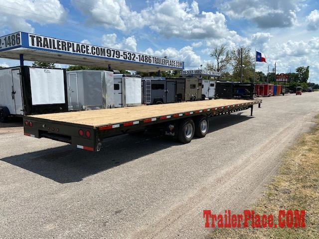 """2020 Texas Pride 102"""" x 40' Deckover Flatbed Trailer"""