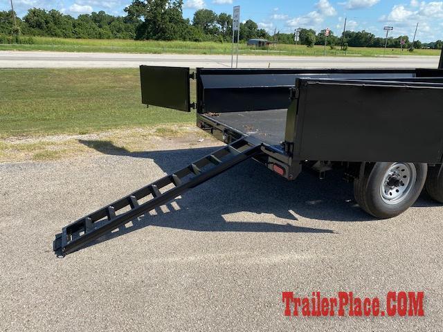 2020 Texas Pride 7 x 16 Gooseneck Dump Trailer