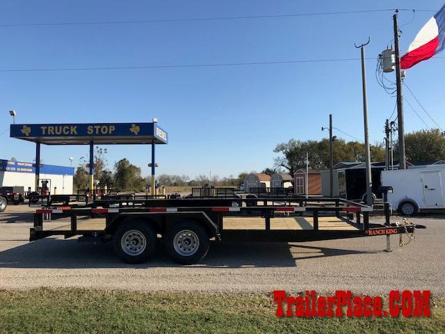 "2021 Ranch King 6'10"" x 20' Utility Trailer"