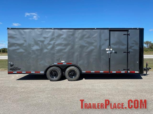 2021 Cargo Craft 8.5x24 Auto Carrier/ Enclosed Cargo Trailer