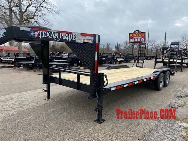 "2020 Texas Pride 102"" x 22 Equipment/Car Hauler"