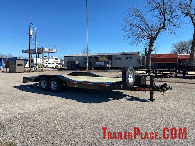 "2021 Ranch King 102"" x 22' Equipment Hauler"