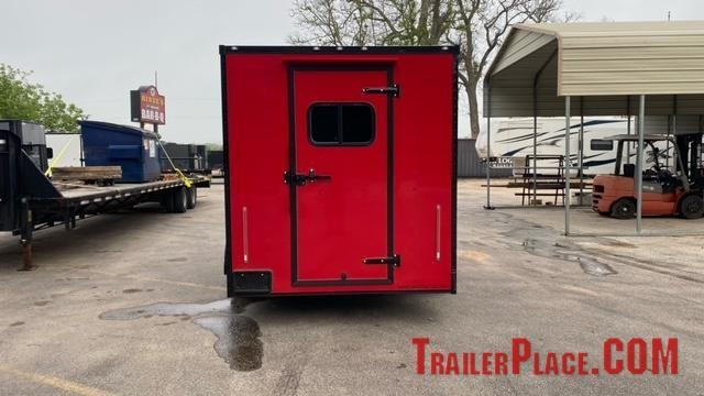 2021 Cargo Craft 7X16  Concession Trailer