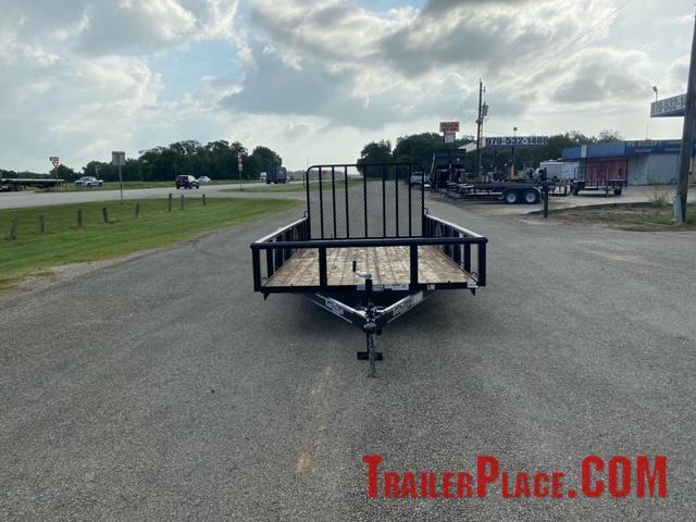 2021 East Texas  77 x 14 Utility Trailer