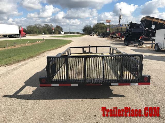 "2021 Ranch King 6'10"" x 14 Utility Trailer"