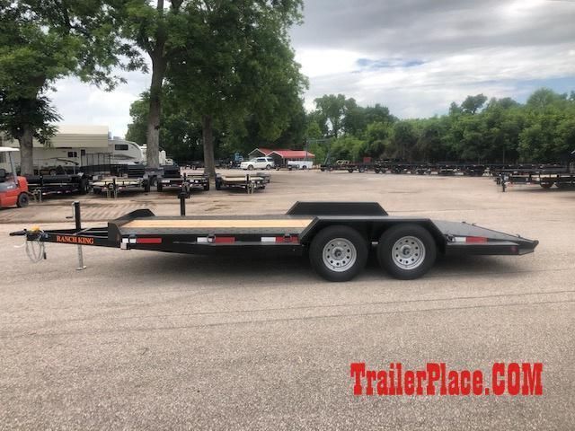 "2021 Ranch King 6'10"" x 18 Car Hauler Trailer"