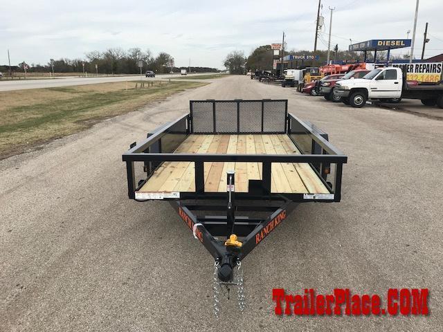 2021 Ranch King 6 x 12 Utility Trailer